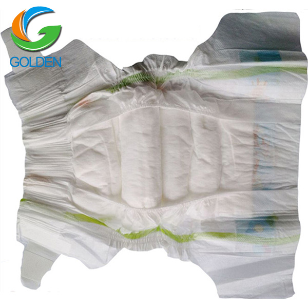 All 4 SIZES Economical disposable baby diaper fujian factory sleepy baby diapers low price