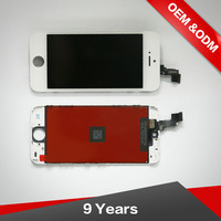 For Iphone 5S Black Lcd , 100% New Lcd Screen