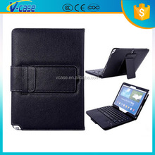 13.3inch tablet pc leather bluetooth keyboard case for samsung galaxy note 3
