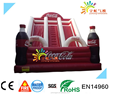 Cloa design inflatable jumping castle with slide, commercial inflatable slide