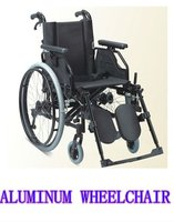 TAW253LACHQ Aluminum drop back handle elevating legrest and quick release axle wheelchair(drum brake)