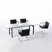 Modern Cassina Conference Table Le Corbusier LC6 table for conference room