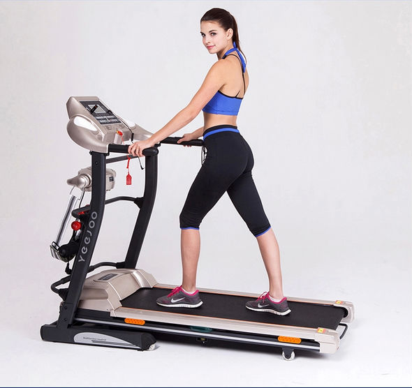 2015 NEW home use exercise machines life fitness motorized treadmill
