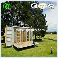 prefabricated sandwich panel waterproof 20ft expandable container house