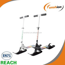 New Version self-balancing snow scooter,snow tracks for vehicles