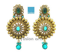 Indian Traditional Antique Ethnic Earrings