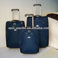 GM9607 20/24/28/32 inch Classical design EVA trolley Luggage sets/suitcases/travel bags /hot sale two whees luggage set