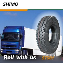 SHIMO ST901 Good heat dissipation performance sale truck tires in new jersey 12.00R24