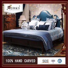Customized Creation Environmentally Friendly Solid Wood Bed Room Furniture Bedroom Set