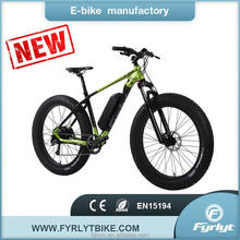 china factory wholesale fat tire bikes 500W bafang rear motor electric fat tire snow bike