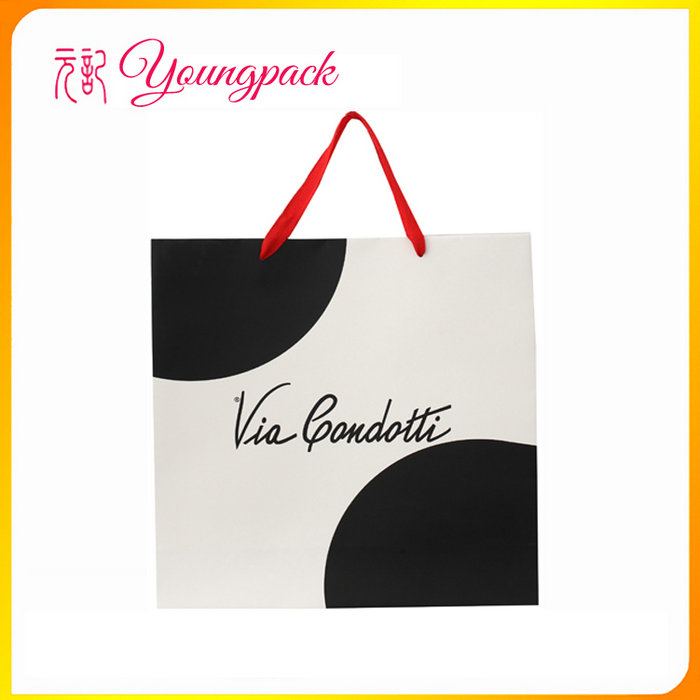 2016 Wholesale high quality cheap brown paper bags with handles