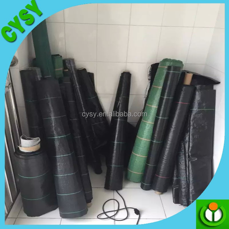 agricultural greenhouse black weed control mat plastic pp ground cover