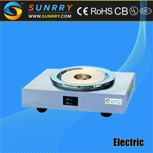 Electric stainless steel coffee warmer with one head coffee pot hot plate broiler (SUNRRY SY-CM80A)