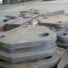 Steel beam bending non ferrous metals for using punched holes galvanized processing parts for constructions