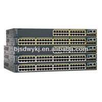 Hot sell Oringinal New 24 Port Cisco Catalyst 3560x Switch WS-C3560X-24T-L