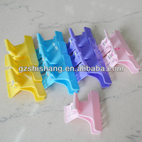 2014 new fashion plastic hair clip