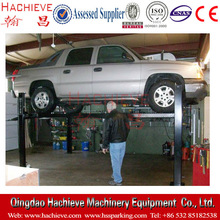 Four post car parking elevator /4 post auto service lifts /car parking solutions