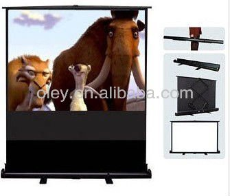 Hot foldable screen for projector, floor stand projection screen