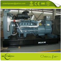 Hot! Germany original engine D2840LE213 550kw MAN engine generator with high performance