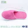 100% cotton terry towel disposable hotel slippers for bath is slipper
