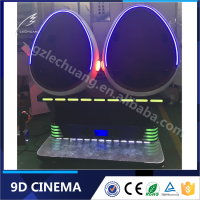 Customized Amusement Park 5D 7D 8D 9D Cinema VR Simulator Roller Coaster 9D VR Motion Chairs