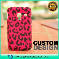 design back cover case for samsung galaxy ace plus s7500 plastic case
