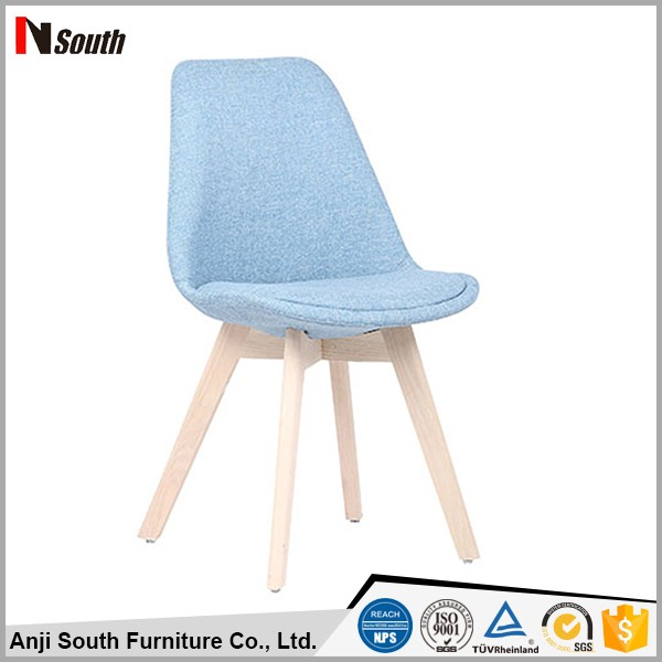 European simple style fabric restaurant leisure dining room chair