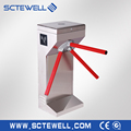 Ce approved security tripod turnstile RFID intelligent tripod turnstile waist height turnstile gate for access control