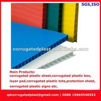 PP Hollow Sheet PP Corflute Sheets