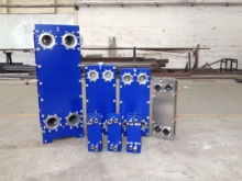 Economic and Reliable sea water plate heat exchanger