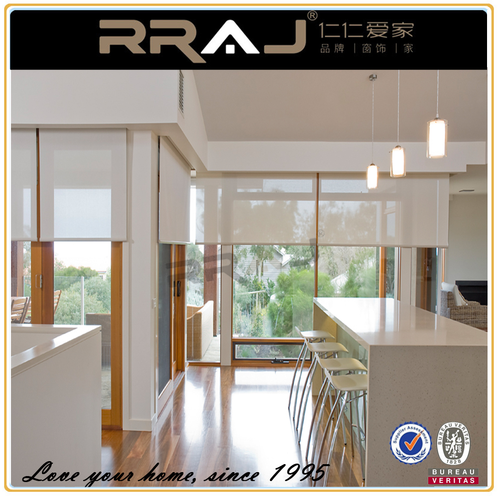 motorized automated design roller shades