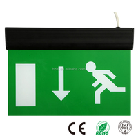 3Hours LED Exit Symbol Emergency Light With CE Certificate Exit Sign Emergency