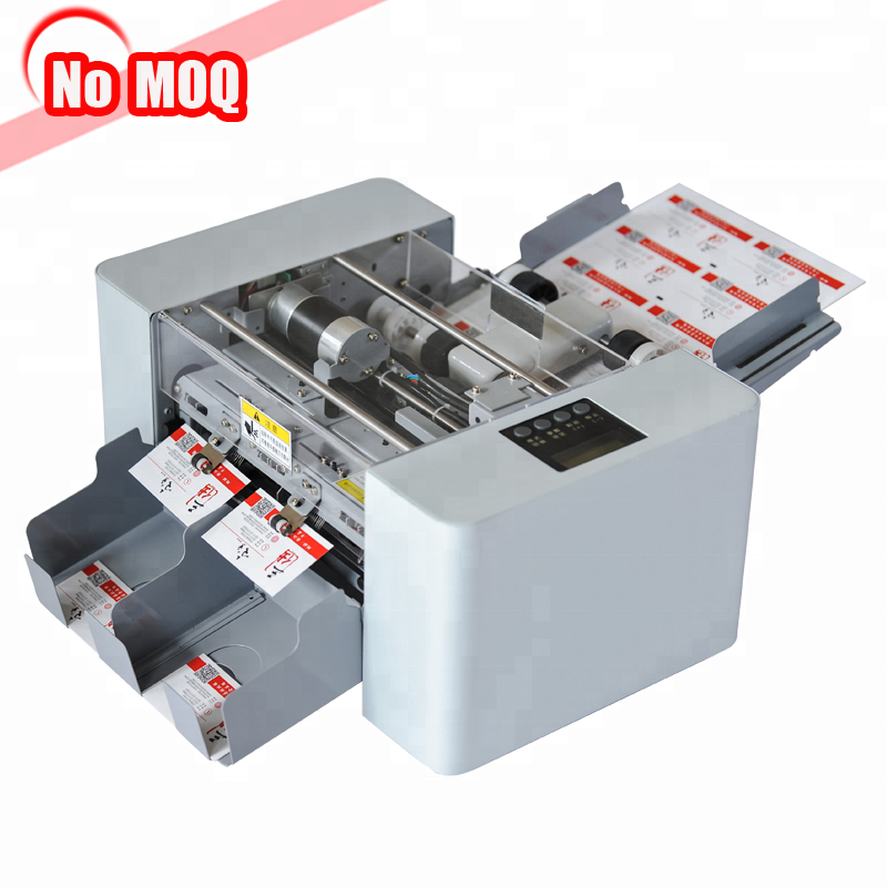 business card slitter and name id card cutting cutter machine