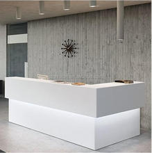 spa counter table front desk commercial front desk, Artificial Stone Reception Counter