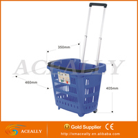 moving plastic shopping basket for sale