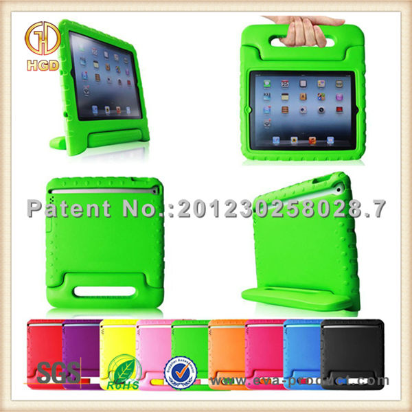 Kid safe ultra shock proof cover cases for ipad5 with factory price