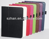 High quality Lychee PU Wallet leather cover case for Amazon Kindle Fire HD X 8.9