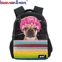 10pcs WHOLESALE primary child dog backpack cartoon 3D backpack kids