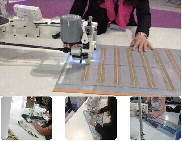 apparel Sewing Template Cutting Plotter/CNC router machine