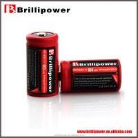 In stock battery brillipower aw18350 800mAh 3.7v li-iom rechargeable dry battery
