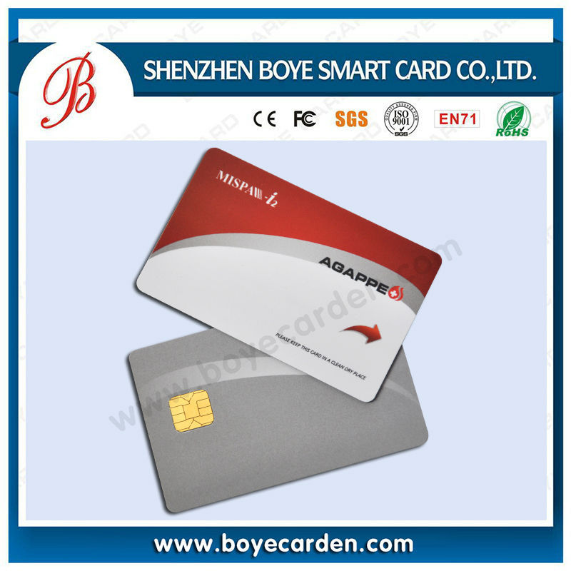 Promotion !Contact IC PVC Card SLE4442/SLE4428 ATMEL series chip with high quality printing