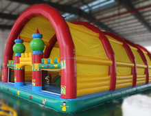 colorful kids inflatable fun city for sale