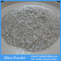 20 40 60mesh Silver White Mica Powder Filler for Oil Drilling