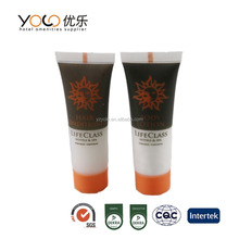 wholesale branded hotel amenities/toiletries/plastic cosmetic tubes