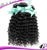 Most popular products 2016 indian deep wave natural black indian hair wholesale