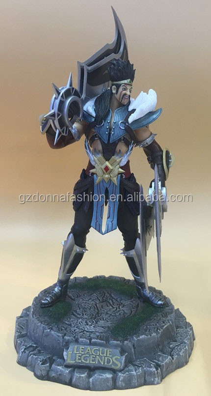 Gzdonnafashion League of Legends LOL 22cm Draven Action Pvc Figure
