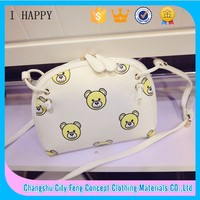 2015 New Cubs Printed Girls Shoulder Bag with Slim Shoulder Straps