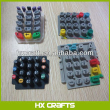 Storage silicon keypad, rubber keypad, keypad customized is welcome