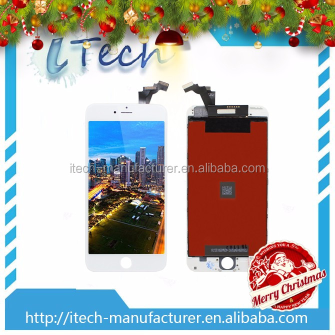Wholesale Foxconn Cheapest !!!LCD Smart Glass For iPhone 6 Plus Digitizer Touch Screen.