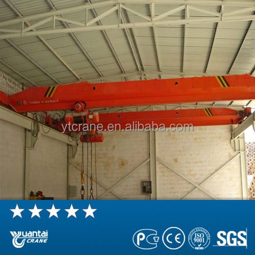 indoor used Electric Factory cheap cost overhead crane